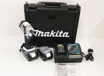 マキタ 充電式インパクトドライバ ー TD148DRTXW