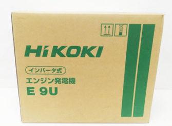 HiKOKI(ハイコーキ) インバータ式エンジン発電機 50/60Hz E9U 宅配買取