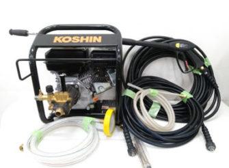 工進(KOSHIN) エンジン式高圧洗浄機 JCE-1408U 宅配買取